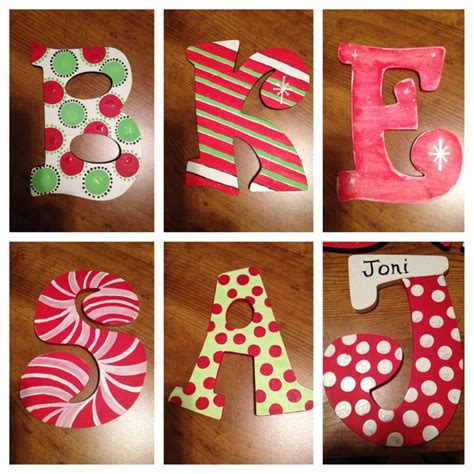 painted wooden letters painted wooden letters