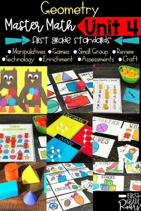 geometry guided master math unit   images