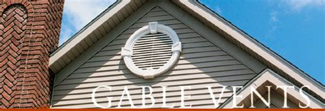 Functional Gable Vents And Louvers, Decorative Gable Vents