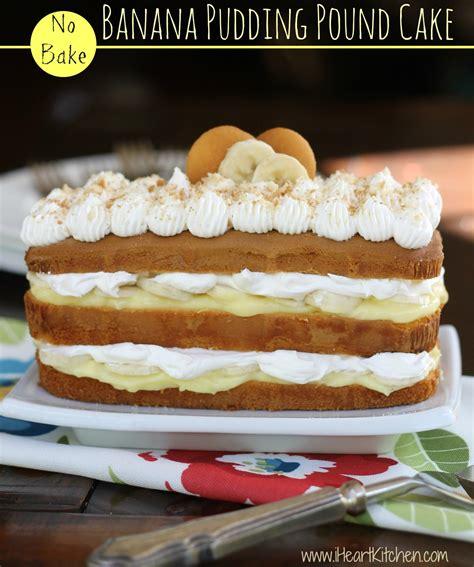 pound cake pudding recipe