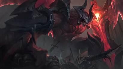 Aatrox League Legends Darkin Animated Blade Wallpapers