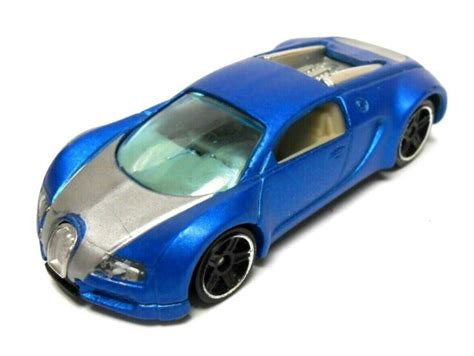 In real life buggati veyron top speed is 200+ and buggati chiron is 304 and last buggati vision gt is 400+. LOOSE Bugatti Veyron 2010 Hot Wheels Satin Blue HW Auction Car | eBay