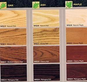Image Gallery oak wood stain