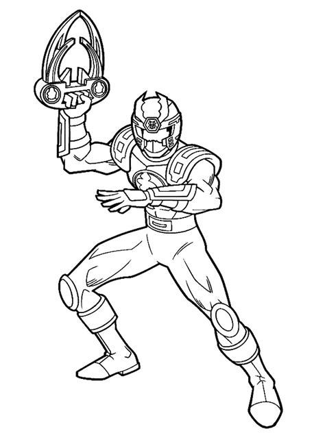 Kleurplaat Dino Power Rangers by Power Rangers Samurai Coloring Pages For Boys To Print For