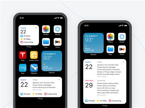 Things Widget iOS 14 (Concept) by Dennis Cortés on Dribbble