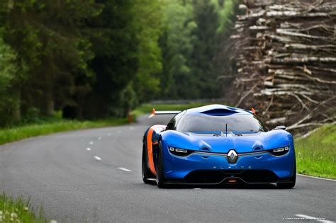 renault alpine a110 renault alpine concept debuts at monaco gp