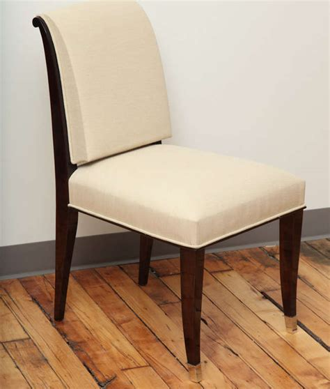 suite of 10 2 deco dining chairs and armchairs