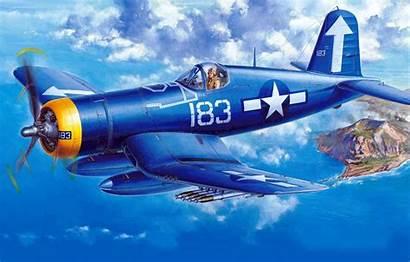 Corsair F4u Vought Chance 1d Carrier Fighter