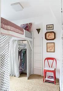 Lit Mezzanine Dressing : les meilleures id es gain de place dans la chambre d conome ~ Premium-room.com Idées de Décoration