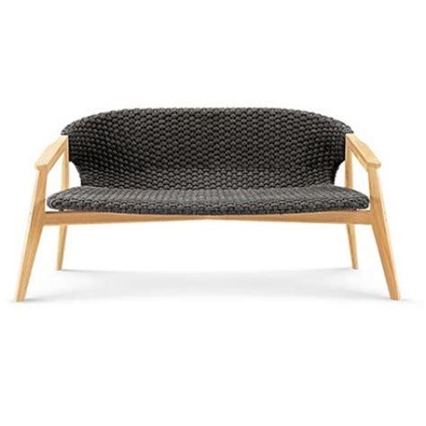 canap ext rieur canapé extérieur deux places knit de ethimo teck