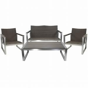 Alu Lounge Möbel : lounge set merano oder riviera sitzgruppe gartenset gartenm bel gartenlounge neu ebay ~ Indierocktalk.com Haus und Dekorationen