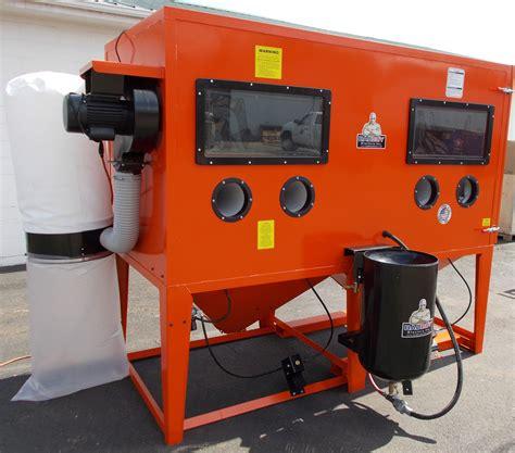 Blast Cabinets by Pressure Blast Cabinet Bb 9000xld Bvt Pr