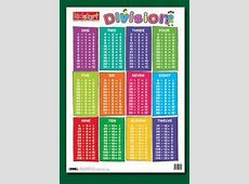 Number Names Worksheets » Division Table Chart Free