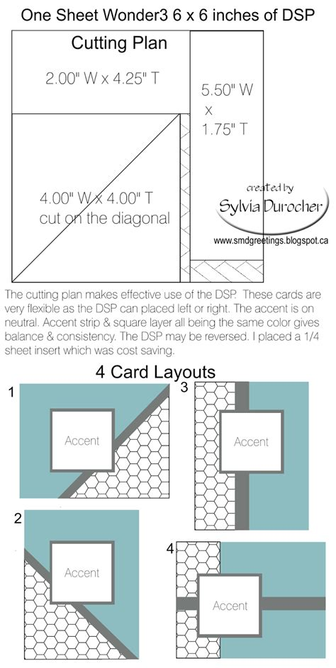 smd paper arts  sheet    template  cards