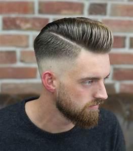 Moderne Frisuren Männer 2017 : m nner frisuren 2018 trendige pompadour frisur f r herren frisurentrends mode zenideen ~ Frokenaadalensverden.com Haus und Dekorationen