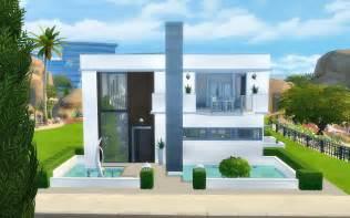 Harmonious Modern Sims Houses by My Sims 4 Modern House No Cc By Viasims