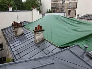 Toiture Terrasse Accessible : cr ation d une terrasse sur le toit d un immeuble parisien ~ Dode.kayakingforconservation.com Idées de Décoration