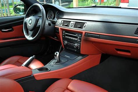 Sell Used L@@k 2008 Bmw M3 Coupe Alpine White Red Interior