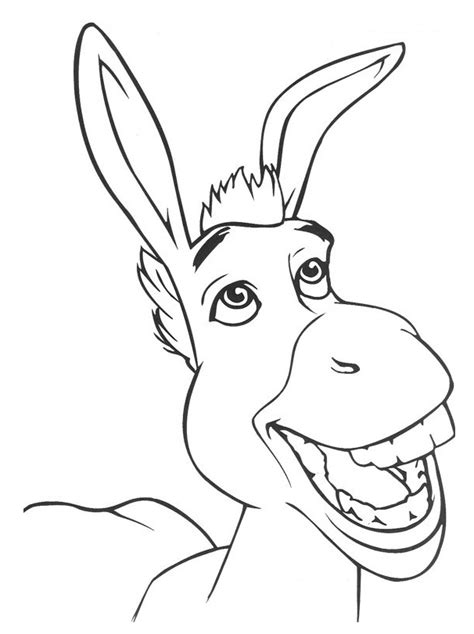 shrek coloring pages shrek coloring pages collection