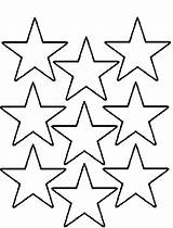 Coloring Stars Star Printable Pages Drawing Multi Template Shape Templates Nativity Christmas Nine Nice Cool Stencils Getdrawings Stencil Regarding Printables sketch template