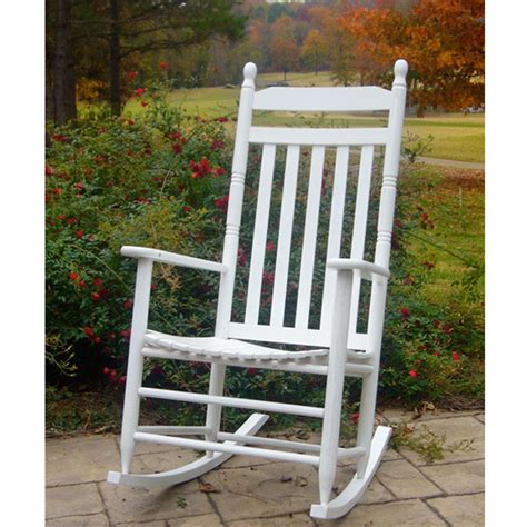 outdoor white rocking chairs wood rocking chair for