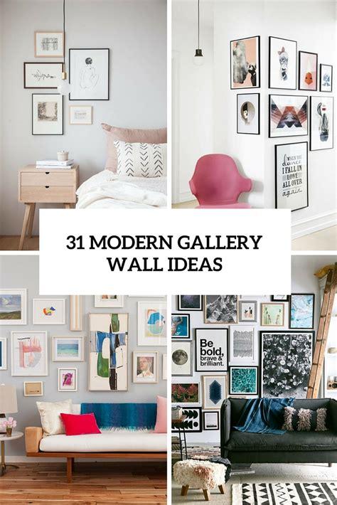 modern photo gallery wall ideas shelterness