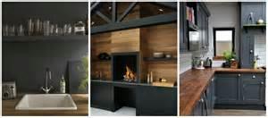 black and kitchen ideas modern black kitchen design ideas home interior design kitchen and bathroom designs