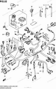Suzuki Motorcycle 2014 Oem Parts Diagram For Wiring
