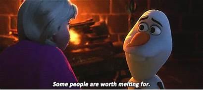 Melting Frozen Worth Disney Olaf Snowman True