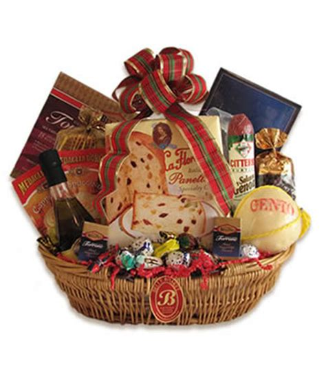 gourmet italian christmas gift basket buon natale