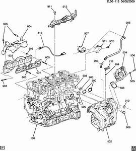 2008 Saturn Vue Manifold  Engine Exhaust Manifold