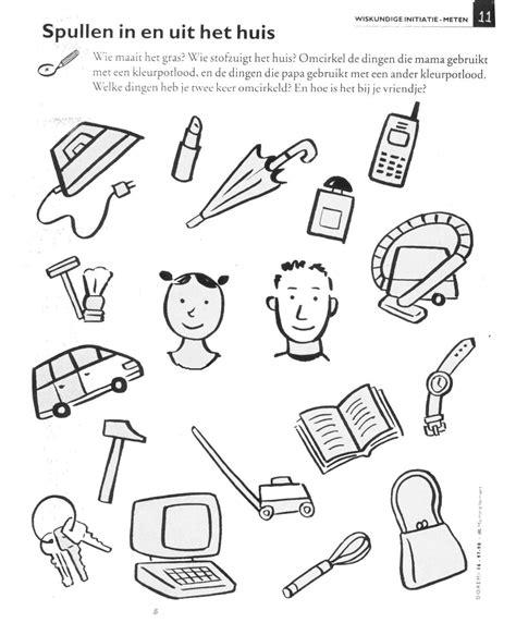 Kleurplaat Kledingstukken by Werkblaadjes Thema Moederdag Zoeken Thema