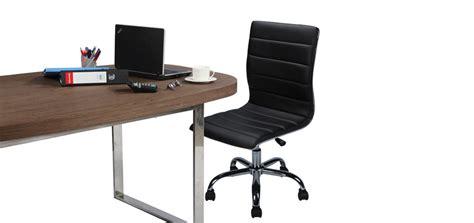 fauteuil de bureau sans accoudoir fauteuil simili cuir achetez nos fauteuils en simili