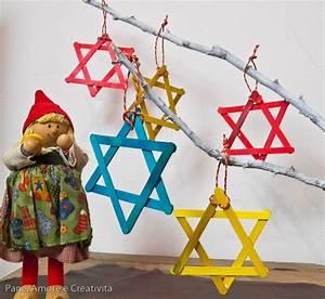 Lavoretti di Natale: le stelline con gli stecchini di