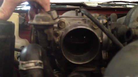 miata throttle body clean part  youtube