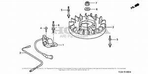 Honda F220 A  B Rototiller  Jpn  Vin  Faaj