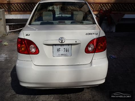 Toyota Corolla Xli 2004 For Sale In Islamabad