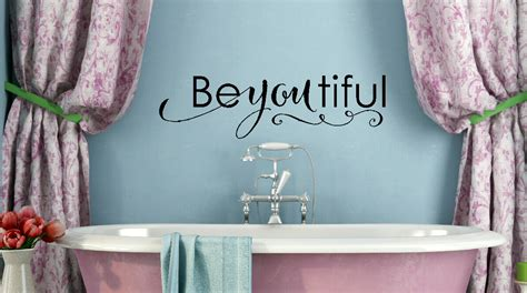 It's a way of customizing a space the wall letters can be initials or can form words that send messages. Be-you-tiful Lettering Girls Wall Sticker Decals Wall Words for Room Decor