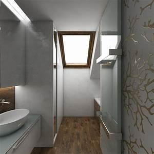 salle de bain combles meilleures images d39inspiration With amenagement de salle de bain sous comble
