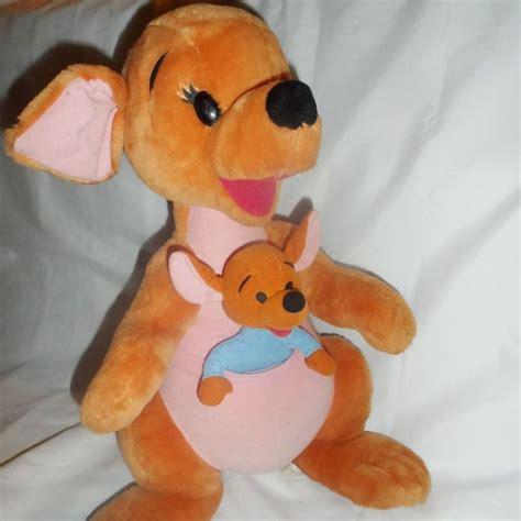 kanga roo mattel 21 quot winnie the pooh kangaroos plush