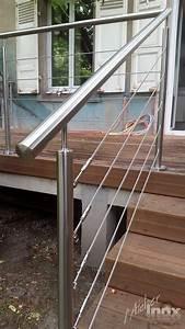 Garde Corps Terrasse Inox : garde corps terrasse en inox l 39 atelier inox ~ Melissatoandfro.com Idées de Décoration