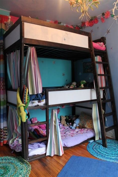 awesome diy ikea kura bed makeovers  excite  kids