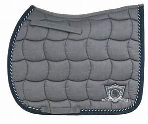 Tapis Bleu Et Gris : tapis de selle br melange classic gris et bleu mixte sellerie cav ~ Dode.kayakingforconservation.com Idées de Décoration