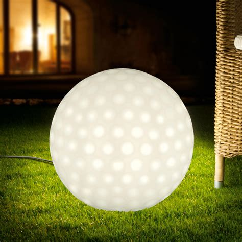 pro idee solarleuchten golfball leuchte 3 jahre garantie pro idee