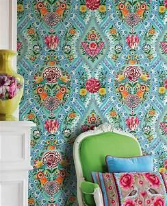 Papier Peint Fleuri Vintage : che ne dici di qualche fiore sulle pareti il blog di mr wonderful ~ Melissatoandfro.com Idées de Décoration