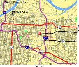 Kansas City Missouri Zip Code Map