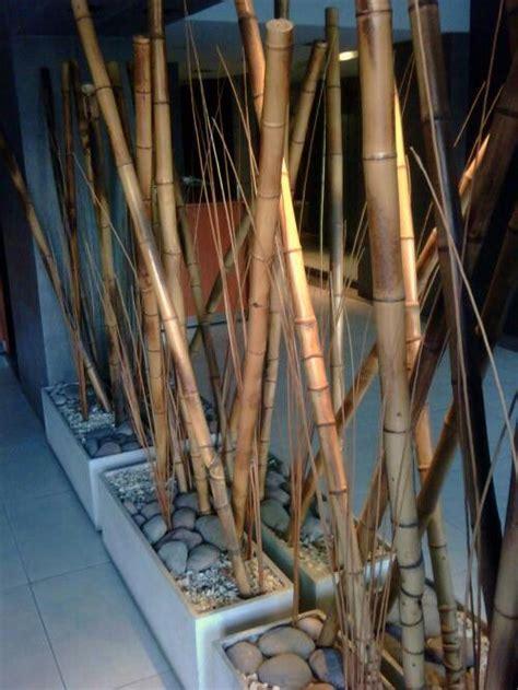 decoracion  canas decora  bambu pinterest