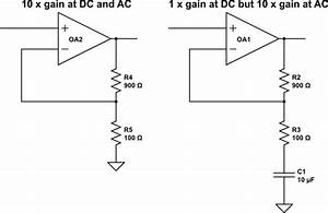 op amp how to remove the dc offset in a cascaded op amp With dc bias circuit