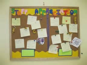 Employee Bulletin Board Ideas