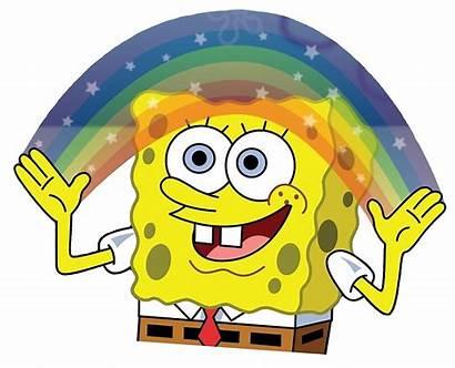 Spongebob Rainbow Squarepants Redbubble